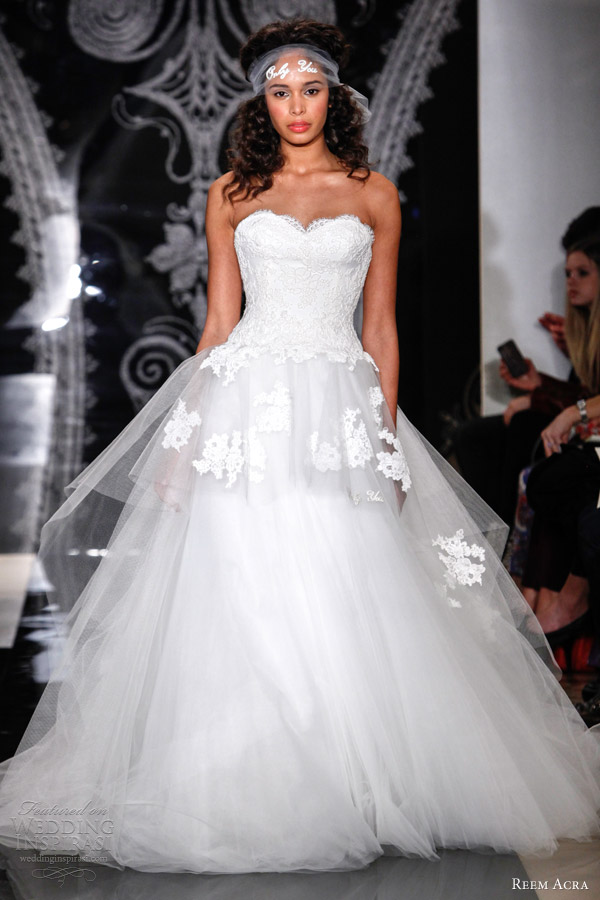My Dream Wedding Dress- Peplum Wedding Gowns – Fashion4Brides