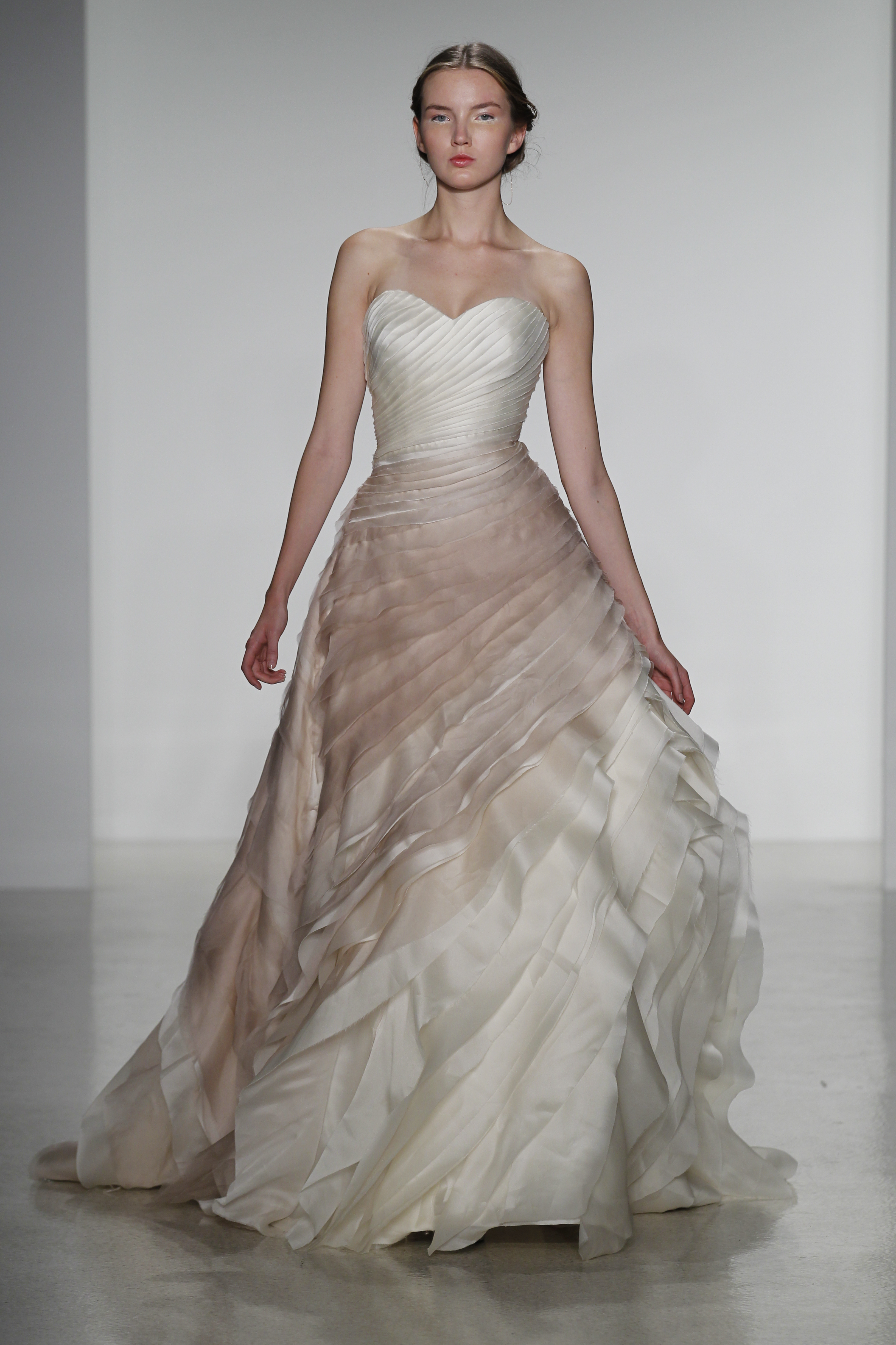 Wedding gowns fashion4brides for Fall wedding dress colors