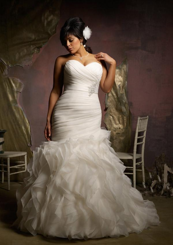 Big Girls You are Beautiful-  Sexy Wedding Gowns