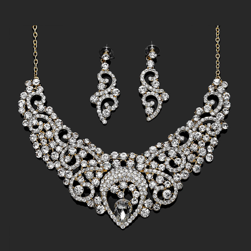 wedding-jewelry-sets-gold