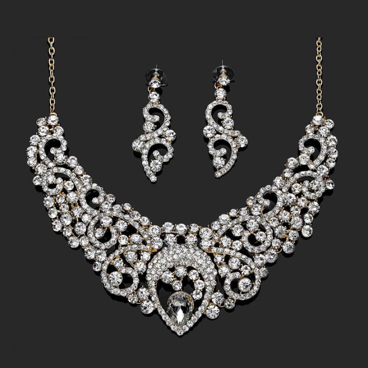wedding-jewelry-sets-gold