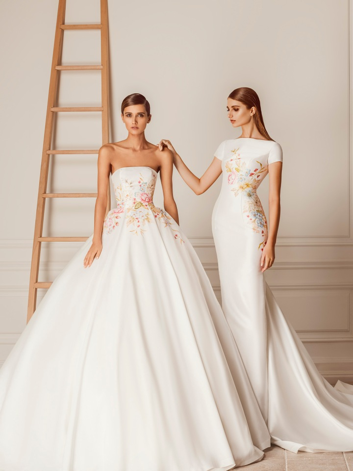 Bridal Designer To Watch-Hamda Al Fahim- Couture Wedding Design I Absolutely LOVE!!!! @hamdaalfahim # bridal #weddinggowns #wedding