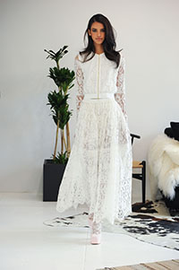 Houghton, Bridal Fall 2016, New York, October 2015