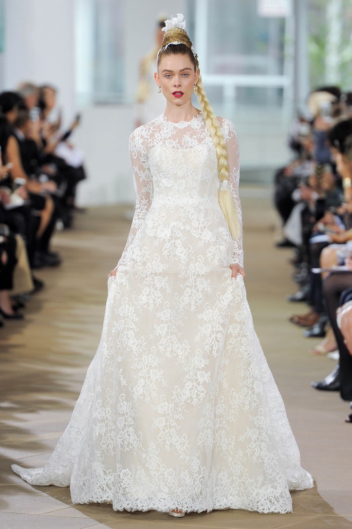 Ines di Santo, Bridal Spring 2018, New York, April 2017