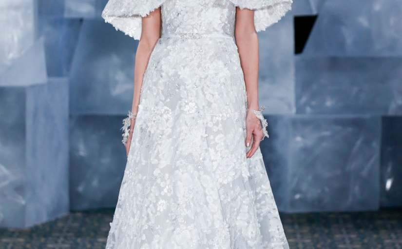 "Mira Zwillinger ""Queen of Ice"" Spring 2019 Bridal Runway Show"