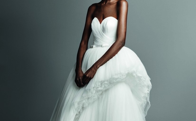 Gorgeous Black Models at NYC Bridal Market Week