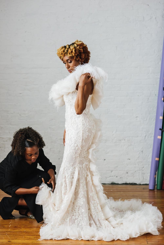 Bridal Fashion Editorial - Brooklyn NY by Chi-Chi Ari-2