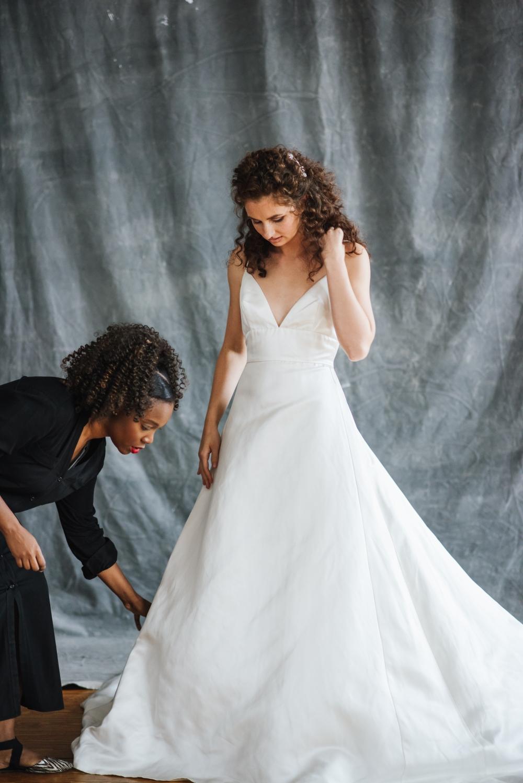 Bridal Fashion Editorial - Brooklyn NY by Chi-Chi Ari-53